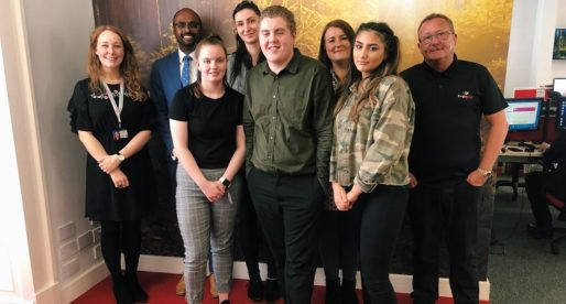 Brightwork Works with Career Ready to Give Three Glasgow School Students Hands-on Office Experience