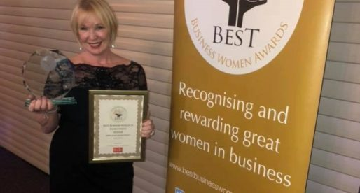 "Kathy Doran Picks Up ""Best Business Woman in Recruitment"" at the 2018 Best Business Woman Awards"