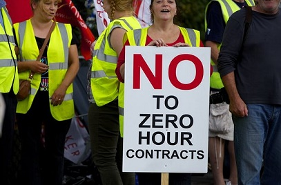 UK Workers on Zero-Hours Contracts Rise Above 800,000