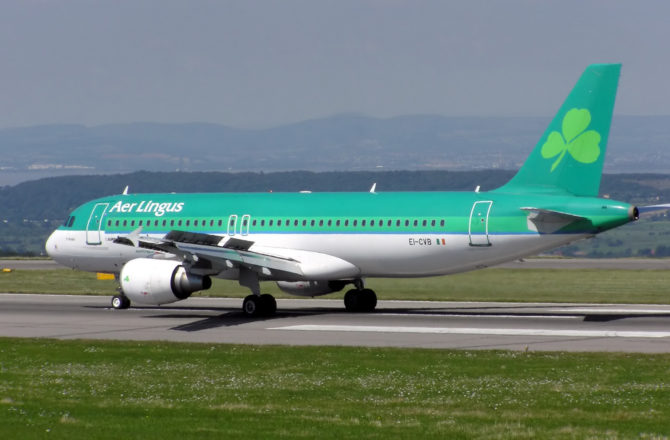 Aer Lingus in Top Five Most Highly Regarded Irish Companies