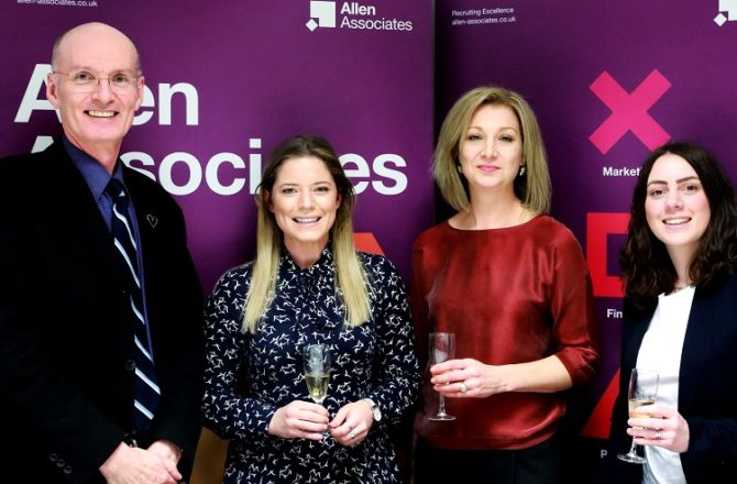 High-Performing HR Professionals Recognised by Allen Associates