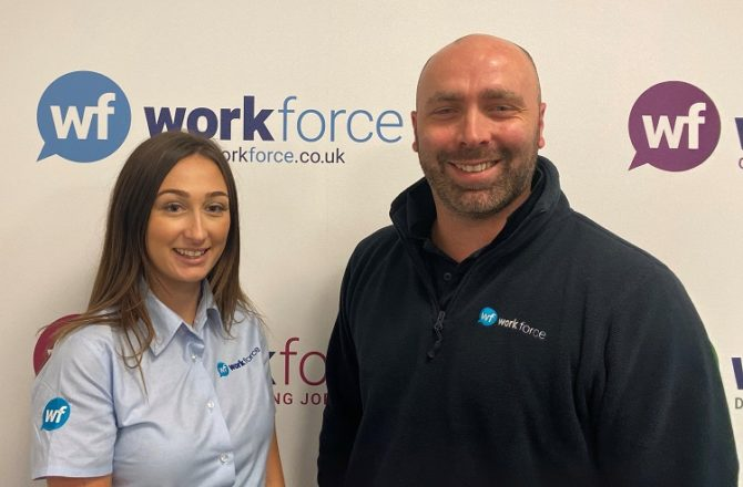 Recruitment Firm Workforce Announces Branch Manager Promotions