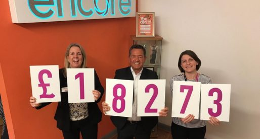 Children's Charities Receive £18K Boost from Encore