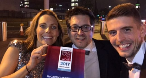 McCarthy Retail Recruitment Wins 2nd Place on the UK's Best Workplaces™ Ranking
