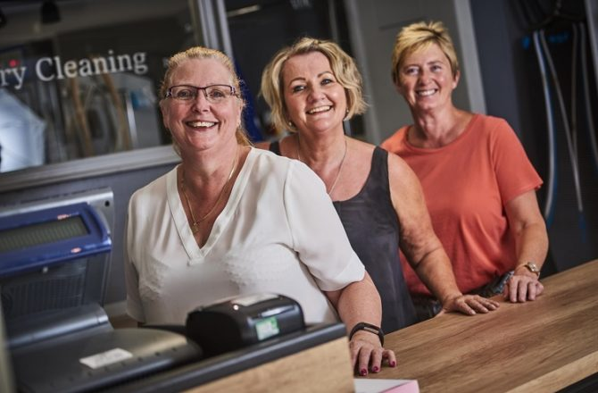 Investment and Jobs as New Worcestershire Dry Cleaning Business Opens