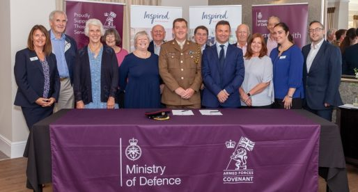 Inspired Villages Group Pledges its Support to Former and Serving Members of the Armed Forces