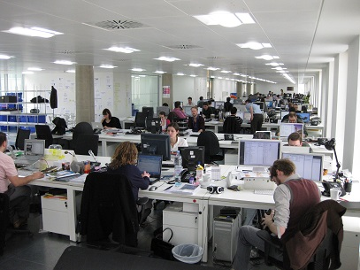 Co-Working Spaces Lead to Better Interactions and Higher Productivity