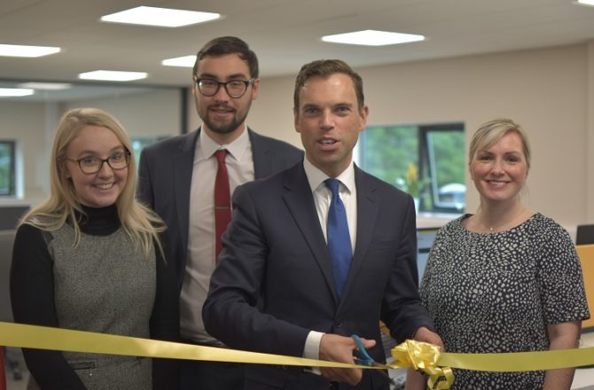 Expanding Recruitment Advertising Firm Opens New High-Tech Offices in St Asaph