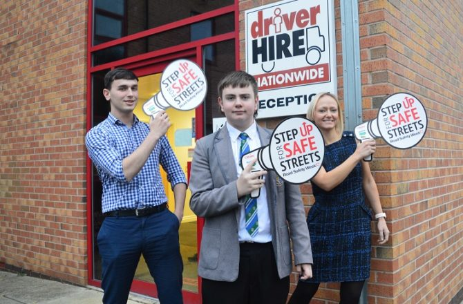 Driver Hire Supports Road Safety Week