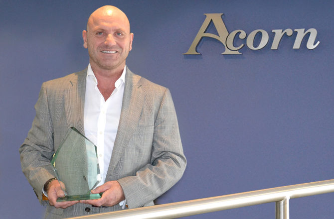 Acorn Director Takes Home Gold at National Leadership Awards