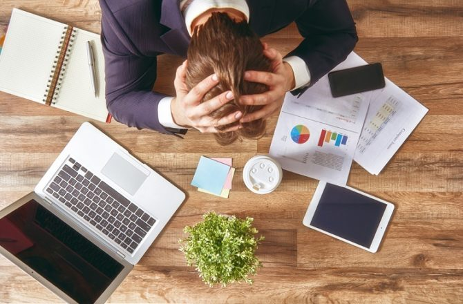 Tech Stress Suffered by One in Three Employees