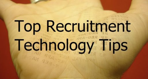 5 Top Tips on How to Put Technology to Work in the Recruitment Sector