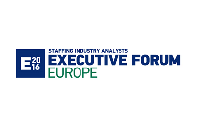 <strong>13th -14th October 2016 – London</strong><br>Staffing Industry Analysts Executive Forum Europe