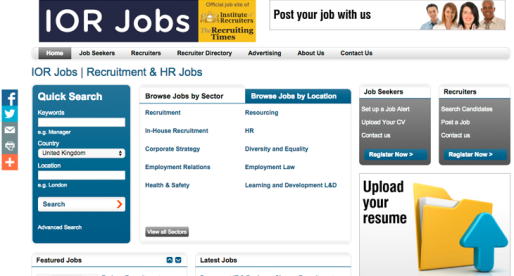Launched – A New recruitment & HR job board