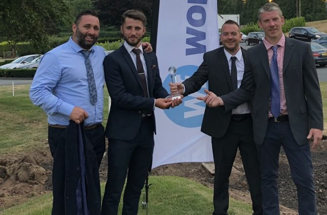 Workforce Staffing Golfers Raise Over £2,000 for Primrose Hospice