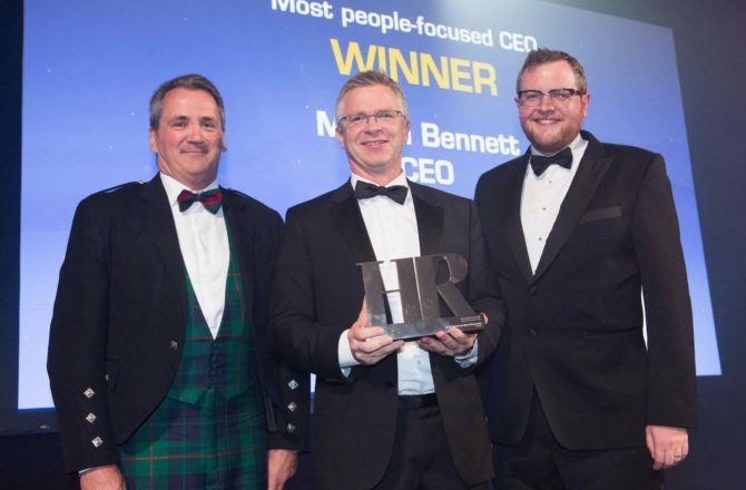 "HomeServe CEO Martin Bennett Awarded ""Most People-Focused CEO"""