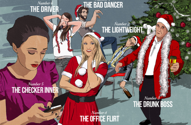 UK Workers Secretly Dread Their Work Christmas Party